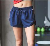 尾牙年貨節暴走的蘿莉 運動短褲女防走光寬松速干透氣跑步健身瑜伽休閒褲洛麗的雜貨鋪