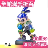 【型男靛男孩】日版 amiibo Splatoon 漆彈大作戰 NFC連動公仔 WII【小福部屋】