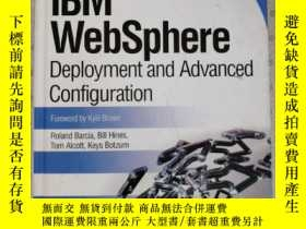 二手書博民逛書店IBM罕見WebSphere Deployment and Advanced Configuration Rola