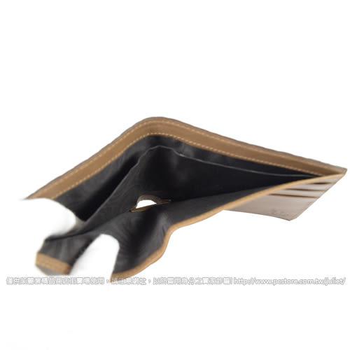 茱麗葉精品【全新現貨】GUCCI 260987 經典小雙G LOGO皮革壓紋雙折短夾.咖