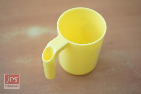蛋黃哥 牙刷杯 (白點點黃)