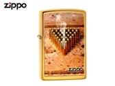【寧寧精品】Zippo 原廠授權台中30年旗艦店 終身保固 防風打火機 *Zippo子彈經典銅霧面款* 5814-1