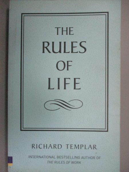 【書寶二手書T1/原文書_INO】Rules of Life_Richard Templar