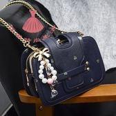 小包包三層夾子迷你鏈條包小方包單肩側背包斜背包女包皮包 巴黎時尚生活