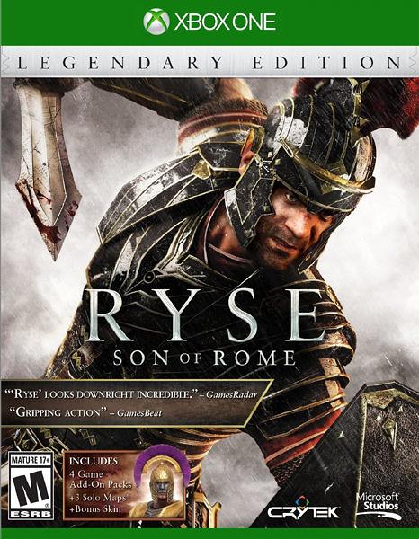 X1 Ryse: Legendary Edition Ryse:羅馬之子 年度版遊戲(美版代購)