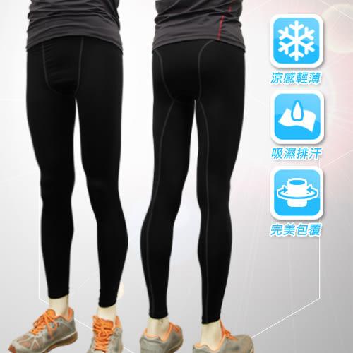 男性多功能運動長束褲 運動緊身褲 運動內褲(黑色) 版型同nike pro