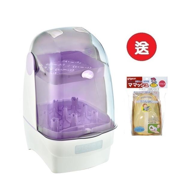 nac nac T1 觸控式消毒烘乾鍋/消毒鍋 (紫色) 2750元+贈嬰兒飯盒連匙套裝