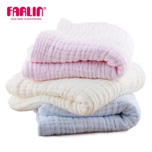 【FARLIN】6層澎澎紗兒童紗布巾(100%純棉)(單入)