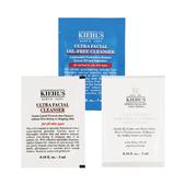 Kiehl's 契爾氏系列試用包 冰河保濕潔面乳/去角質潔面膠/清爽潔面慕斯 3ml