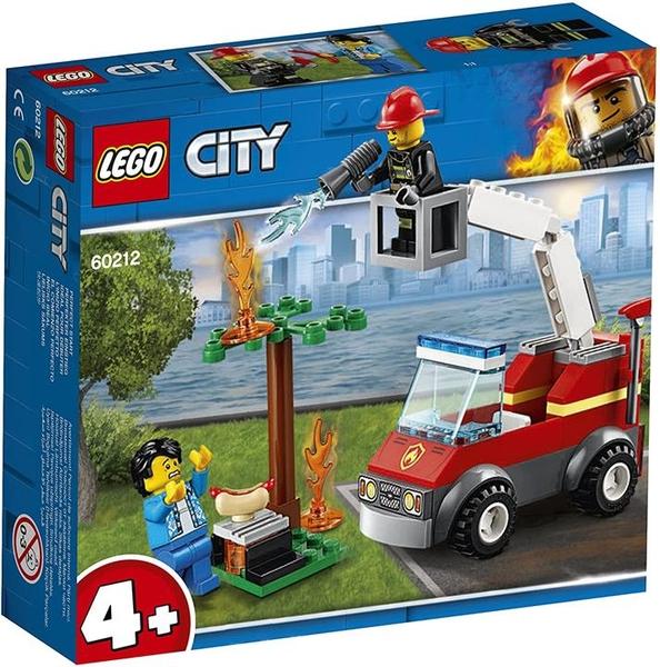 LEGO 樂高 城市系列 燒烤火事 60212 積木玩具 男孩
