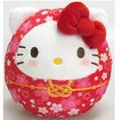 【凱蒂貓達摩娃娃】凱蒂貓 櫻花 新年 達摩娃娃 紅 日本正品 該該貝比日本精品 ☆