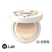 W.Lab 大馬士革玫瑰氣墊粉餅13g 21白皙 原廠公司貨