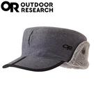 【Outdoor Research 美國 內刷毛保暖覆耳羊毛可遮耳帽《淺灰》】243658/登山/健行/滑雪