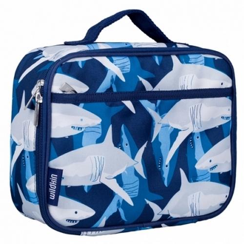 【LoveBBB】美國標準無毒 Wildkin 33700 鯊魚家族 午餐袋/便當袋 [萊恩馬麻大推~萬用餐具袋]