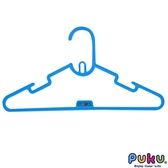 PUKU 藍色企鵝-彩虹糖衣架6入-水藍/二色可選 大樹