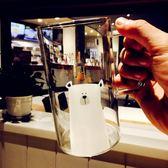 玻璃杯 創意可愛卡通超萌家用大容量耐熱咖啡牛奶杯帶蓋勺 情人節特別禮物