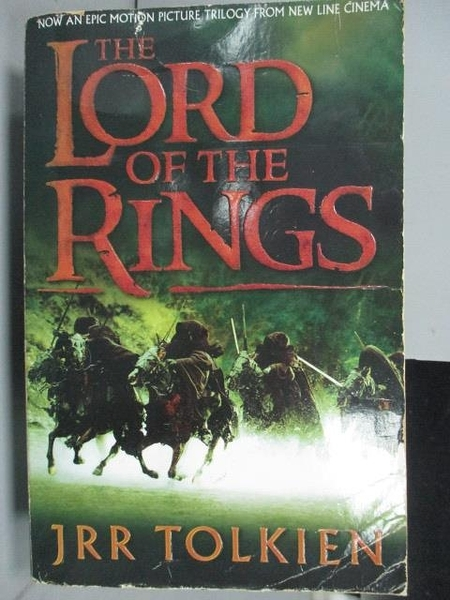 【書寶二手書T6/原文小說_ICA】The Lord of the Rings