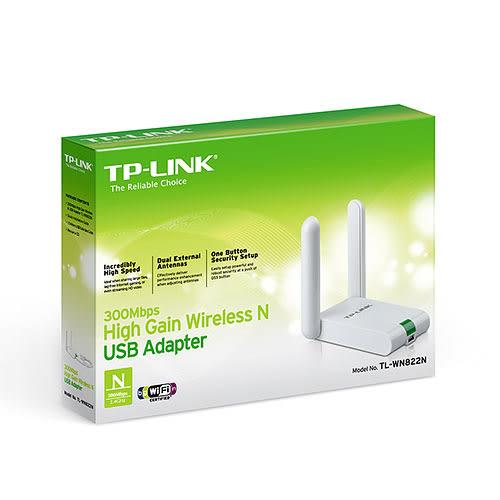 TP-LINK TL-WN822N 300Mbps 高增益 無線 USB 網卡 網路卡
