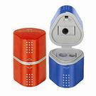 【奇奇文具】FABER 183801藍紅多功能削筆器 (10個/盒)
