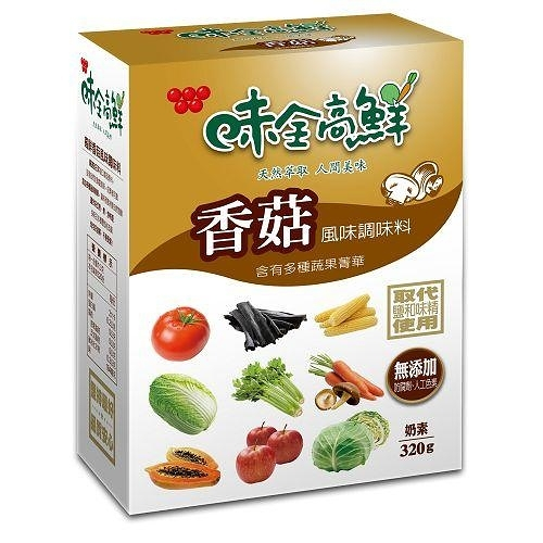 味全高鮮高香菇風味調味料320G【愛買】