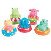 【美國Elegant Baby】洗澡玩具5入組- 夏日戲水派對 40594