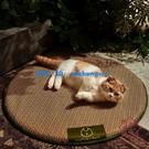 貓窩夏天涼窩四季通用墊子藤編冰墊貓咪涼席【櫻田川島】