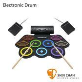 【缺貨】Electronic Drum MD862C 手捲電子鼓/電子爵士鼓音色提升初學者超適用/高靈敏/附多項配件MD-862C