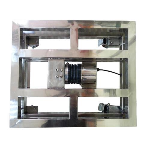 ST-FIP-150不銹鋼手推式台秤IP-66防水防塵等級【150Kg x10g 】台面41X48 CM !! 免運費