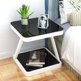全館免運八折促銷-簡易床頭櫃簡約現代臥室組裝床頭桌收納櫃子迷你個性儲物櫃床邊櫃jy