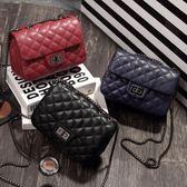 女包2018夏季新款韓版小香風菱格鏈條包時尚迷你小包單肩斜挎包潮『潮流世家』