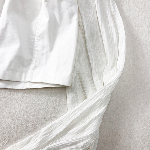 露肩上衣 韓版一字領露肩單排扣短款套頭吊帶上衣女新款長袖露肚臍防曬襯衫