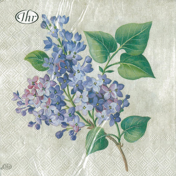 新貨到!紫丁香-德國 IHR 餐巾紙(33x33cm)