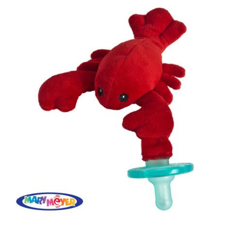 【愛吾兒】美國MaryMeyers蜜兒 玩偶安撫奶嘴-小龍蝦