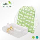 Fullicon護立康-附銀杏圖騰束口袋,兼具隱私與實用的8格收納盒