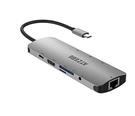 ATZEBE 【日本代購】9 in1 USB3.1 Type-C轉換集線器HDMI輸出4K