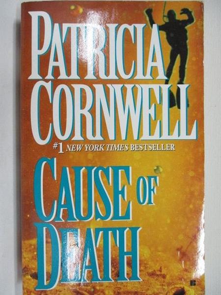 【書寶二手書T4/原文小說_C9A】Cause of Death_Patricia Cornwell