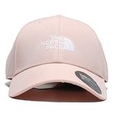 THE NORTH FACE 北臉 老帽 粉色 可調式 棒球帽 百搭 男女 (布魯克林) NF0A4VSVUBF
