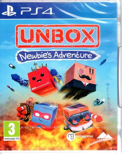 【玩樂小熊】現貨中 PS4遊戲 拆箱 新手冒險 Unbox: Newbie's Adventure 英文版