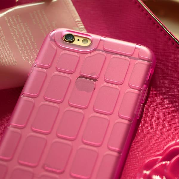 iPhone 6/6s Plus 手機殼 5.5吋【Pebbles石尚規則 - 霧透艷桃】- WaKase