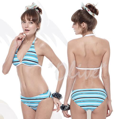 ☆小薇的店☆MIT聖手品牌亮眼海洋風時尚三件式比基尼泳裝特價990元 NO.A93422(M-XL)
