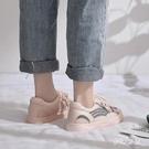 透氣小白鞋女2020新款夏季薄款百搭網鞋ins潮網面老爹鞋運動板鞋 FX4738 【夢幻家居】