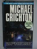 【書寶二手書T9/原文小說_LPD】SPHERE_Michael Crichton