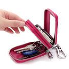 鑰匙包 雙層拉鏈掛腰車鑰匙圈包【CL2332】 BOBI  12/01