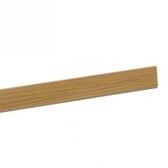一字條木質-柚木 120cm/支