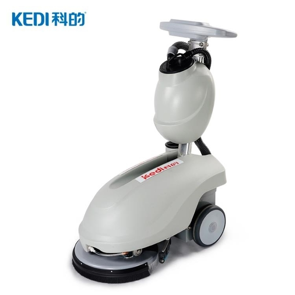 KEDI科的商用350B手推式洗地機智慧型水洗吸塵器掃地機地面清潔機 亞斯藍