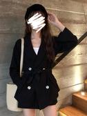 2020新款春夏韓版寬鬆休閒小西裝外套西服 高腰短褲套裝兩件套女