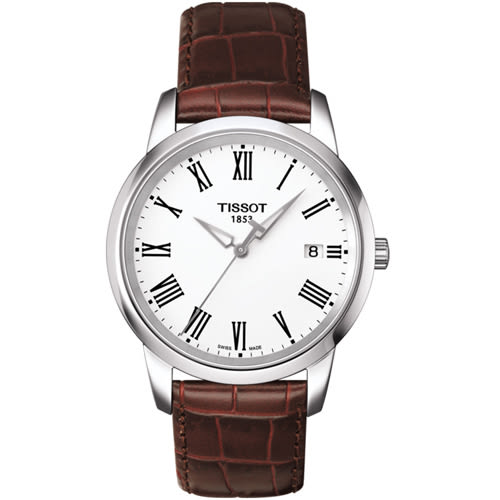 TISSOT天梭CLASSIC DREAM睿智典範腕錶  T0334101601301