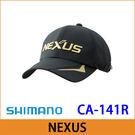 橘子釣具 SHIMANO NEXUS釣魚帽 CA-141R#黑色