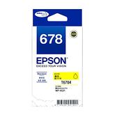【奇奇文具】愛普生EPSON T678450 NO.678 黃色 原廠墨水匣