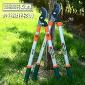 潘易園藝省力剪粗枝剪高枝修枝剪樹枝果樹綠化剪刀刀園林工具  都市時尚